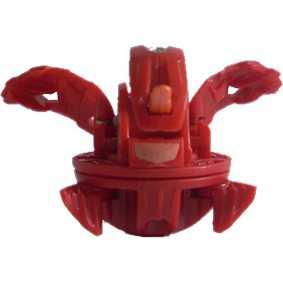 Bakugan B2 New Vestroia Pyrus Nova 12 Spin Dragonoid vermelho (aberto)