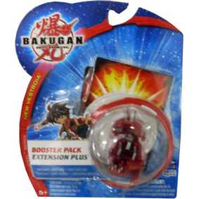 Bakugan B2 New Vestroia Pyrus Scraper vermelho