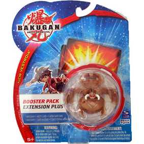 Bakugan B2 New Vestroia Shadow Vulcan Marrom