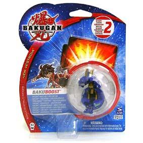 Bakugan BakuBoost Bakubronze Aquos azul Scraper