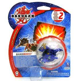Bakugan BakuBoost Bakuneon Aquos azul Neo Dragonoid