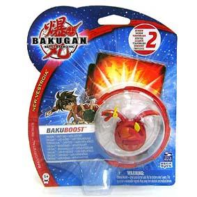 Bakugan BakuBoost Bakuneon Pyrus Nova 12 vermelho Motra Pyro Dragonoid