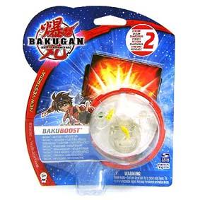 Bakugan BakuBoost Transparente amarelo 2