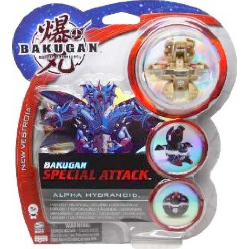 Bakugan Special Attack Alpha Hydranoid marrom