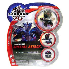 Bakugan Special Attack Alpha Hydranoid preto