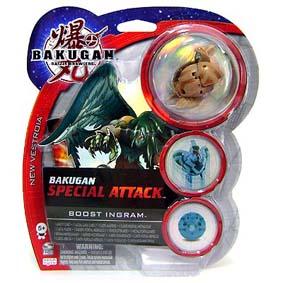 Bakugan Special Attack Boost Ingram marrom