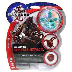 Bakugan Special Attack Turbine Helios verde