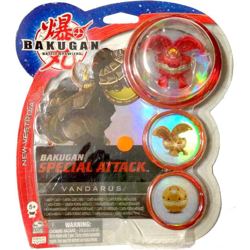 Bakugan Special Attack Vandarus vermelho