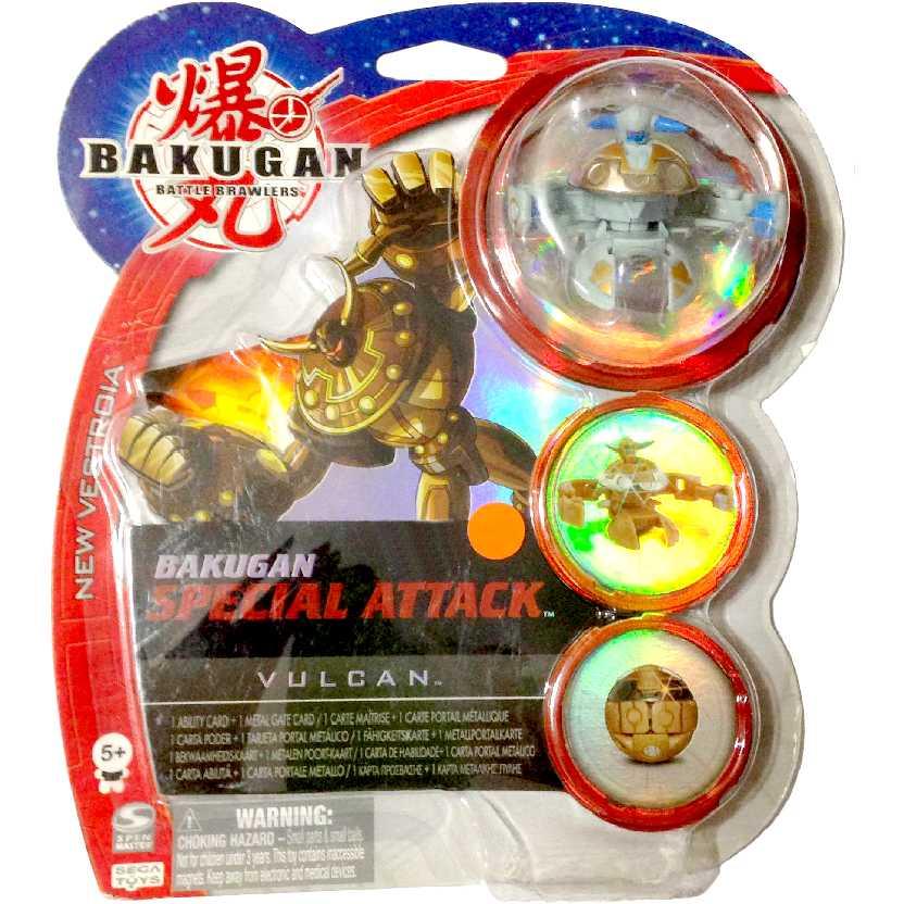 Bakugan Special Attack Vulcan cinza