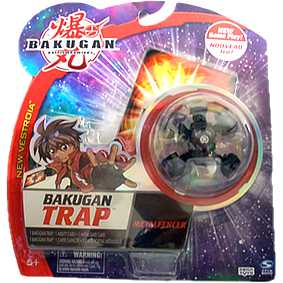 Bakugan Trap - Metalfencer preto