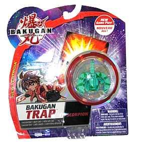 Bakugan Trap - Scorpion Ventus verde