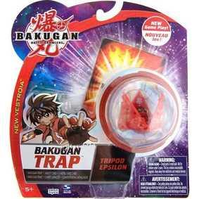 Bakugan Trap - Tripod Epsilon vermelho