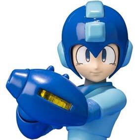 Bandai D-Arts Megaman, Rush e Met ( Darts Rockman classic Action Figure )