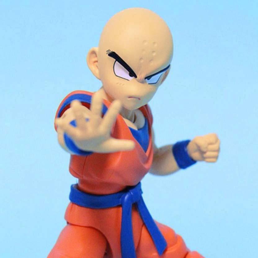Bandai Dragon Ball Z S.H.Figuarts Kuririn Klilyn DBZ Action Figure