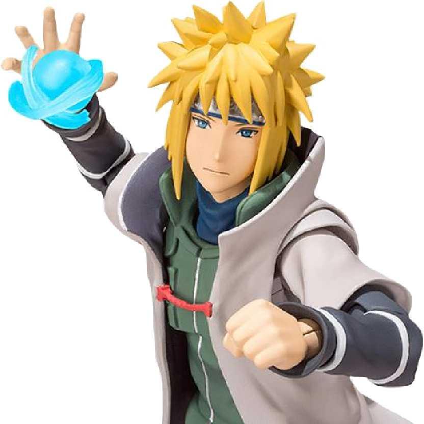 Bandai S.H. Figuarts Namikaze Minato Naruto Shippuuden Action Figure