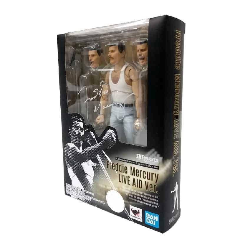 Bandai S.H. Figuarts Queen Freddie Mercury Live Aid version ORIGINAL