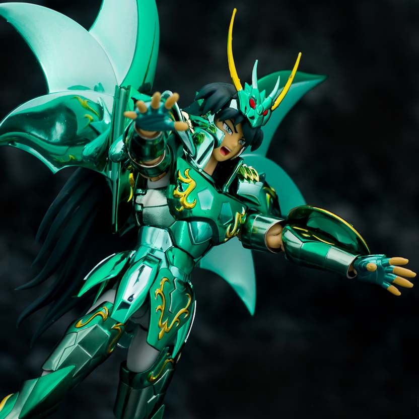 Bandai Saint Seiya Dragon Shiryu Cloth Myth 10th Anniversary - Dragão God Cloth Myth V4