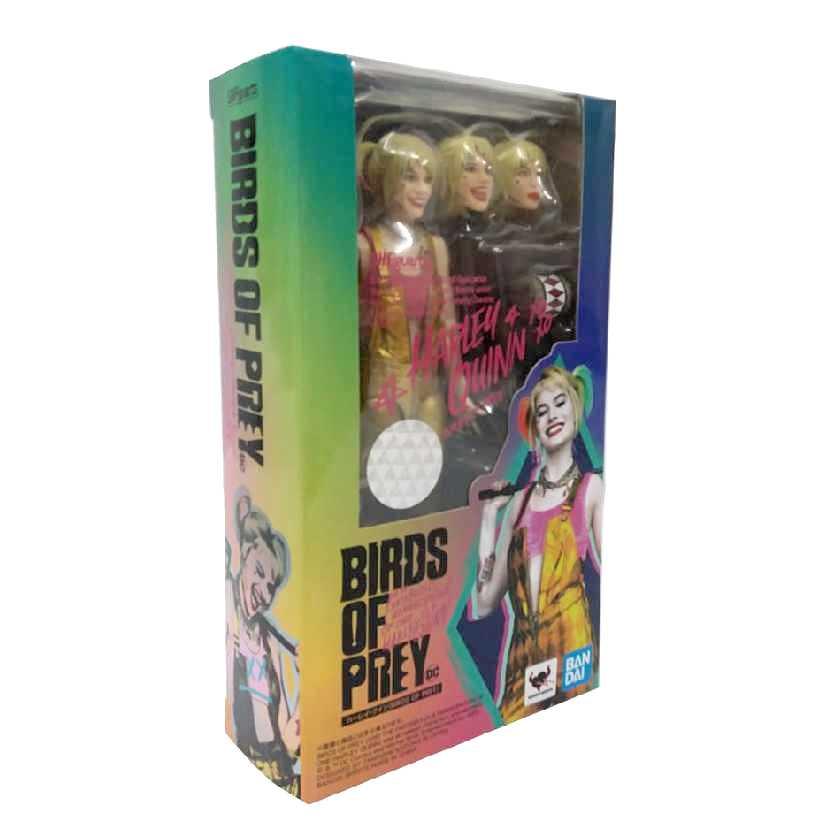 Bandai SH Figuarts Birds of Prey Harley Quinn Arlequina em Aves de Rapina ORIGINAL