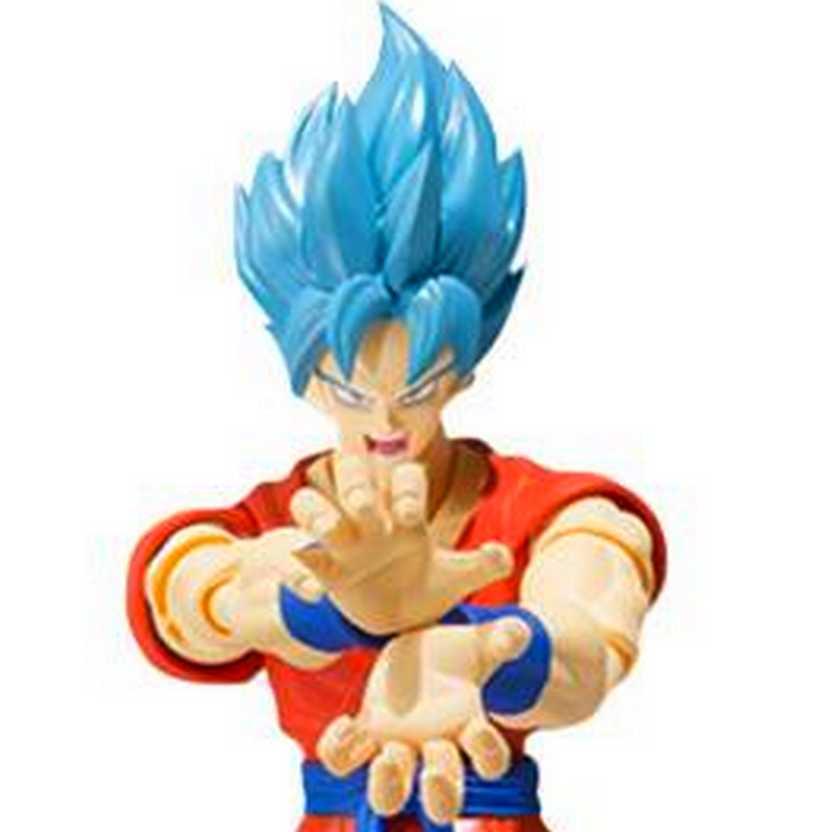 Bandai SH Figuarts Dragon Ball Z Son Goku God Super Saiyan Action Figure
