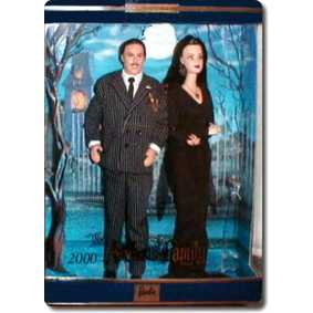 Barbie Addams Family Gift Set Morticia Gomez Adams