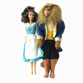Barbie Beauty and Beast (1991) Aberto
