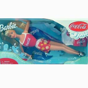 Barbie Coca Cola Splash