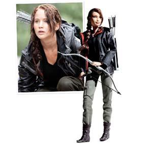 Barbie Collector Edition The Hunger Games Katniss Everdeen ( Jennifer Lawrence )