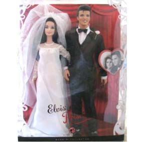 Barbie Elvis e Priscilla (c/ alianças)