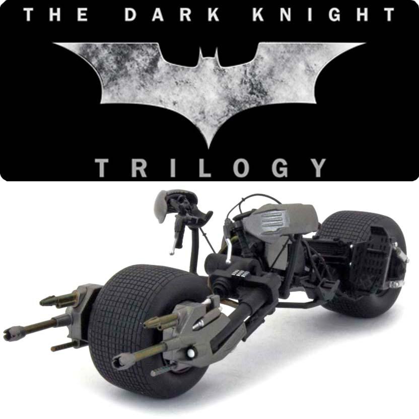 Bat Pod The Dark Knight Trilogy : Batman Hot Wheels Elite X5471