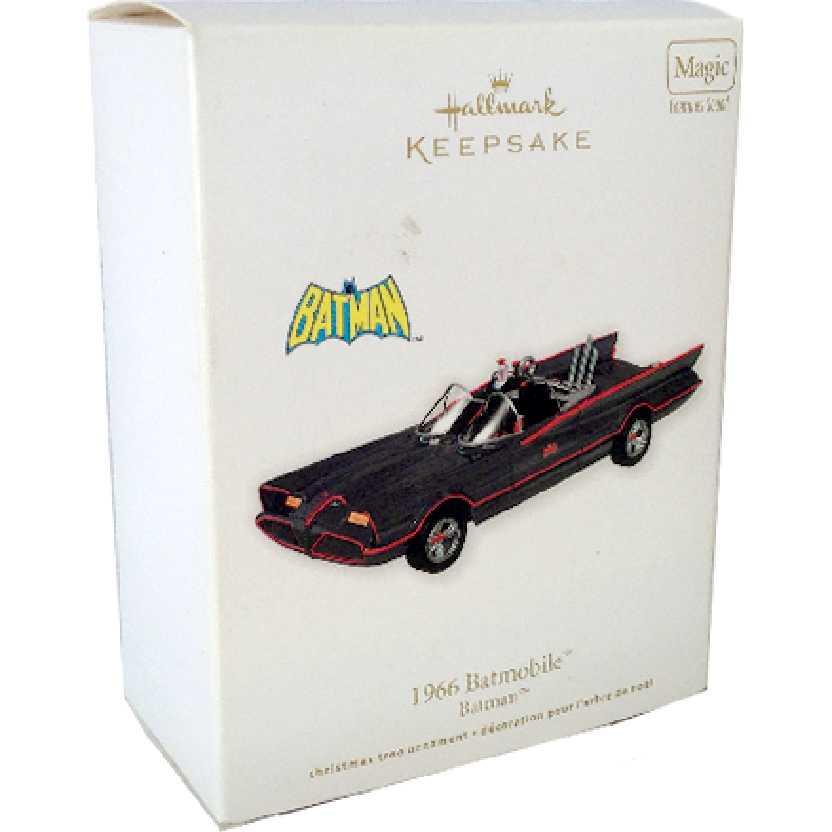 Batmóvel 1966 com som Batmobile 66 Batman ornament Hallmark (RARIDADE)