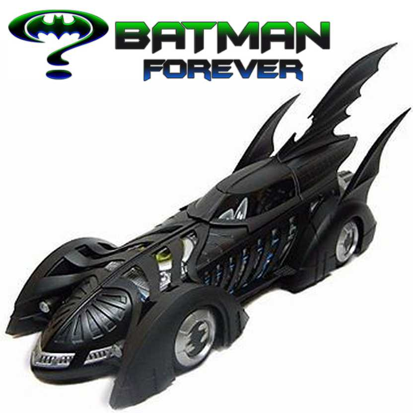 Batmóvel 1995 Batman Forever (Val Kilmer) Hot Wheels 1/18 Batmobile 1995 BLY43