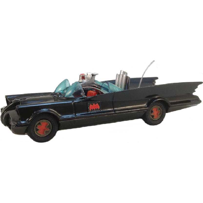 Batmóvel antigo da Corgi Toys (Batmobile) com logo na roda Raro