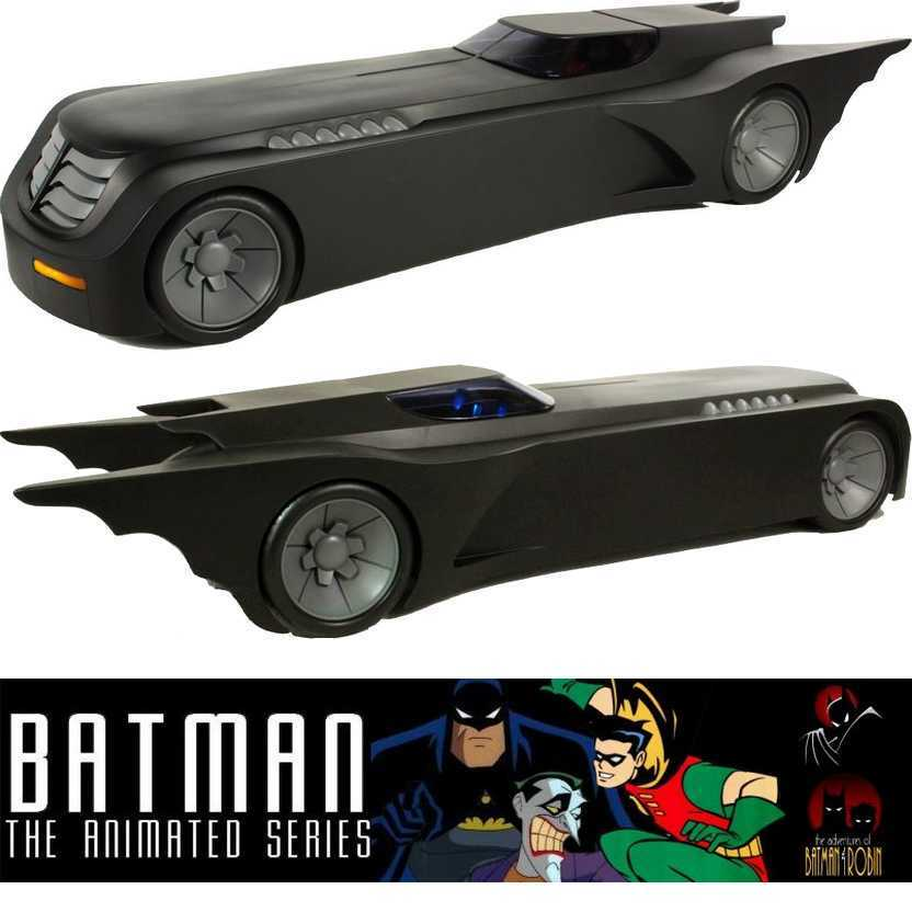 Batmóvel com luz - Batmobile vehicle with lights - DC Collectibles - Batman Animated