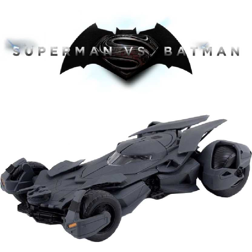 Batmóvel do filme:  Batman vs Superman Batmobile Jada escala 1/24 não requer cola e tinta
