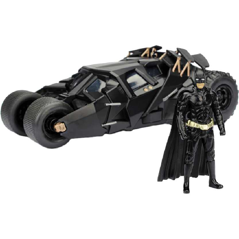 Batmóvel do filme O Cavaleiro das Trevas The Dark Knight Tumbler Batmobile escala 1/24