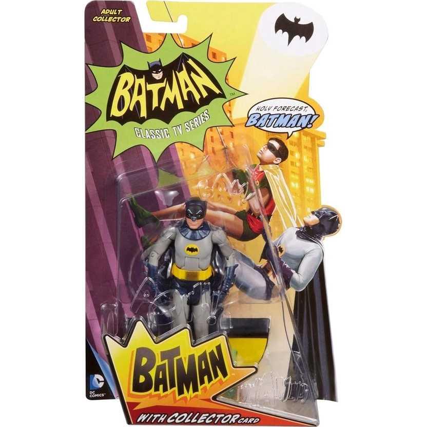 Batman 1966 Classic TV series ( Adam West ) com base e collector card