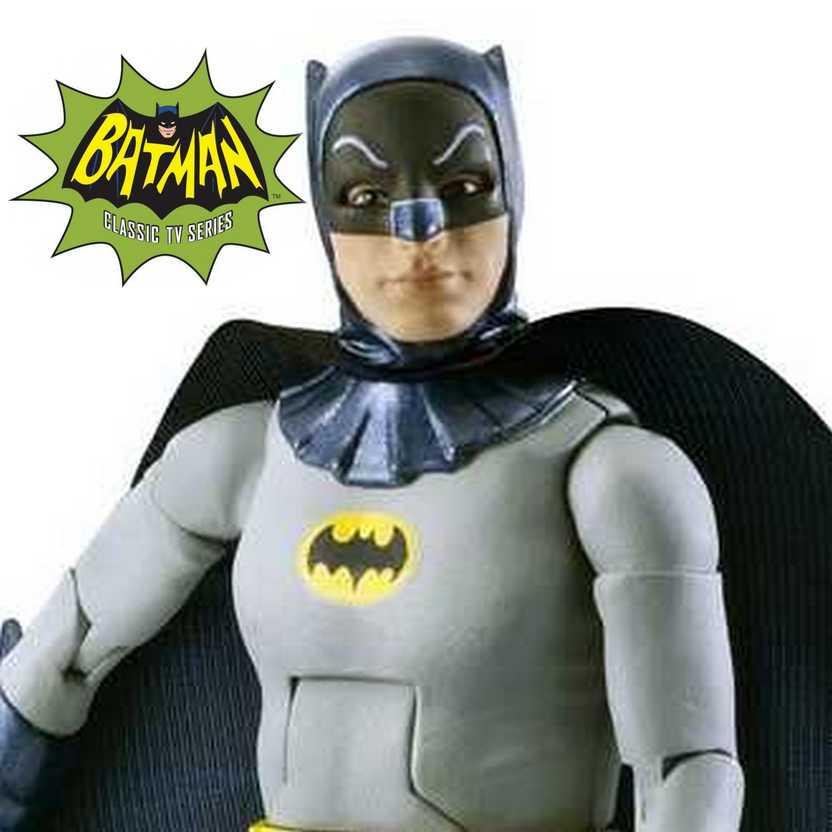 Batman 1966 Classic TV series ( Adam West ) with collector card (ABERTO)
