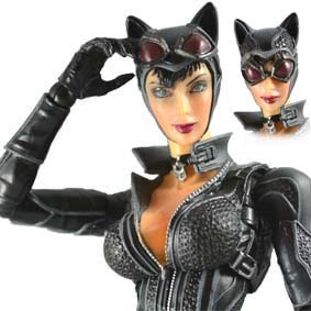 Batman Arkham City Play Arts Kai Catwoman Action Figure - Mulher Gato
