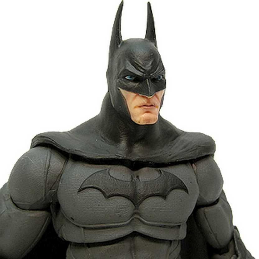 Batman Arkham City série 4 boneco Batman (aberto) Dc Collectibles Action Figures