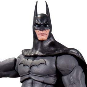 Batman Arkham City série 4 boneco Batman Dc Collectibles Action Figures
