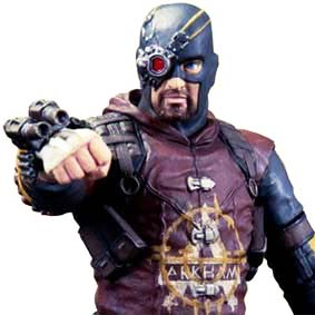 Batman Arkham City series 4 Deadshot Dc Collectibles Action Figures