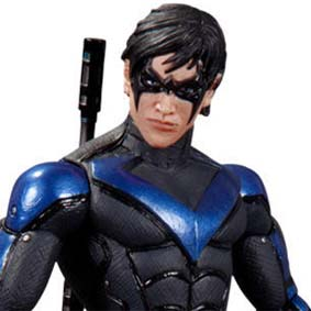 Batman Arkham City wave 4 Nightwing Dc Collectibles Action Figures