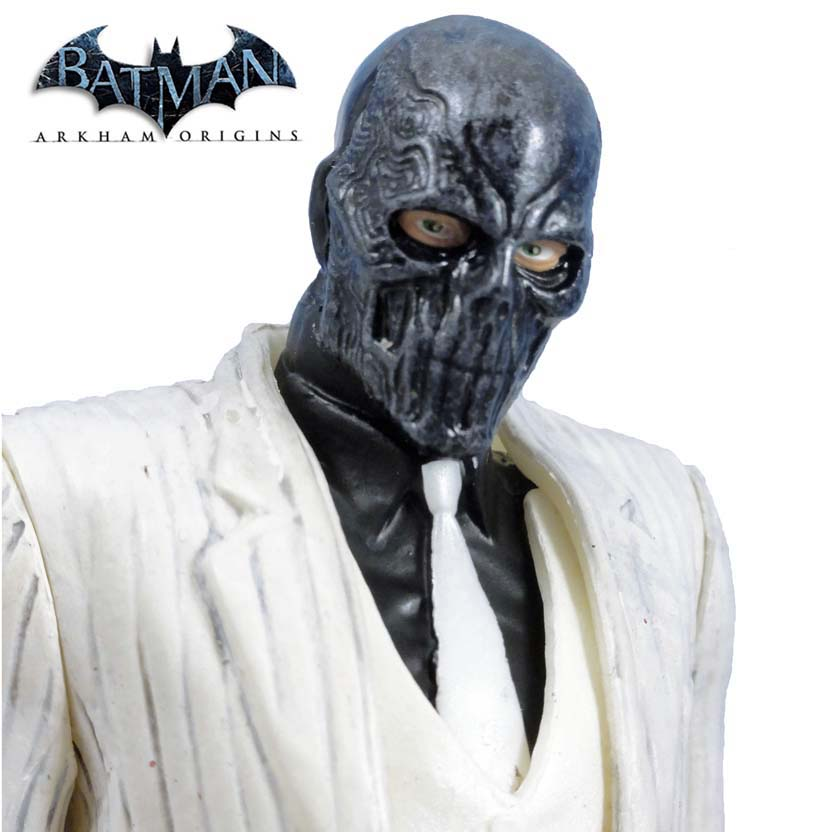 Batman Arkham Origins series 1 Black Mask - Máscara Negra DC Collectibles Action Figures