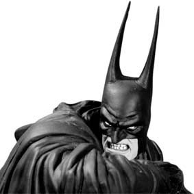 Batman Black and White Statue by Kelley Jones second edition