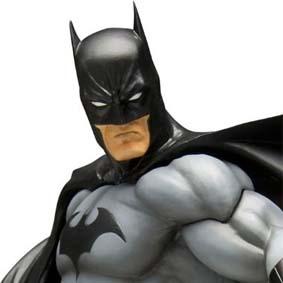 Batman Black Costume ArtFX Statue Kotobukiya escala 1/6 lacrado na caixa
