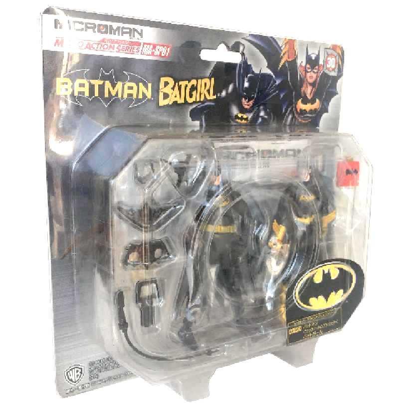 Batman e Batgirl (30 pts de articulação) Microman MA-SP01 Takara