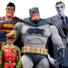 Batman ( O Cavaleiro das Trevas ) The Dark Knight Returns action figure Box Collector Set
