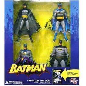 Batman Through The Ages (4 bonecos) DC Direct Action Figures