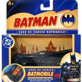Batmobile 2000 DC Comics marca Corgi escala 1/43 (Batmóvel)