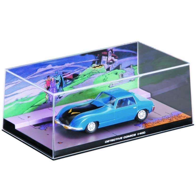 Batmobile #400 (1970) Batman Automobilia Eaglemoss Num. 5 caixa de acrílico 19x10x8 cm